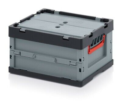 Professional - Tank Collapse 40x30x22 with Lid Plastic Box Stackable Foldable