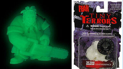 TEXAS CHAINSAW MASSACRE LEATHERFACE TINY TERRORS 2 INCH Glow in the Dark FIGURE