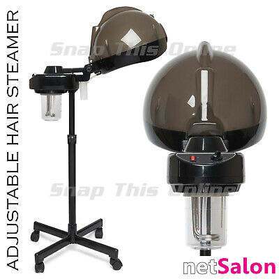 Professional Hair Steamer Hood Conditioning Salon Spa Home Standing Portable