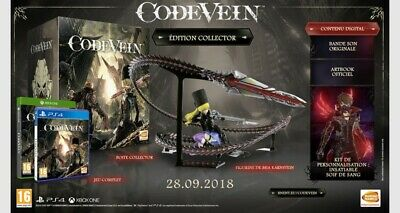 Code Vein Edition Collector Ps4