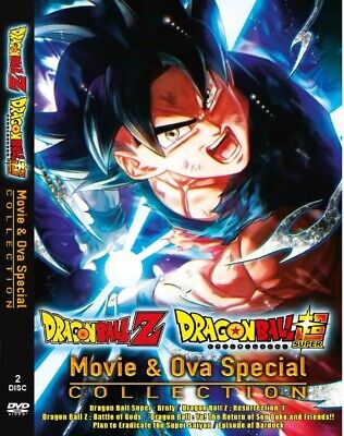 DVD Anime Dragon Ball Super & Dragon Ball Z Movie+ OVA English Dubbed And Subbed