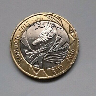 2012 London Olympic Handover Rio 2016 £2 Two Pound Coin Circulated Freepost