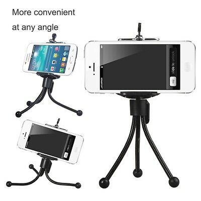 Universal Mini Mobile Phone Tripod Stand Holder Mount For Camera iPhone