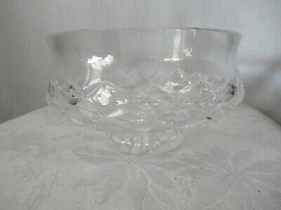 "Waterford Crystal Lismore 5"" footed bowl"
