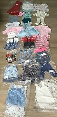 """Lot 30+ Pc Clean Ironed Doll Clothes 18"""" Amer Girl Our Generation Or same size"""