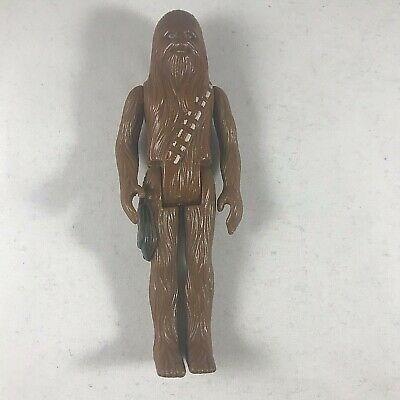 """Vintage Kenner Star Wars CHEWBACCA Loose 3.75"""" Figure 1977 A New Hope 1st 12"""