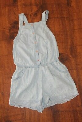 Target Light Blue Overall Style Shorts Size 12