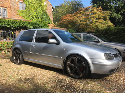 Volkswagen Golf Mk 4 GT TDI fully loaded remapped lowered 3 door Audi wheels