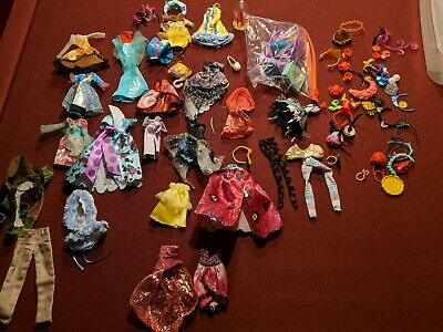 Lot Monster High Ever After Doll Clothes & Accessories