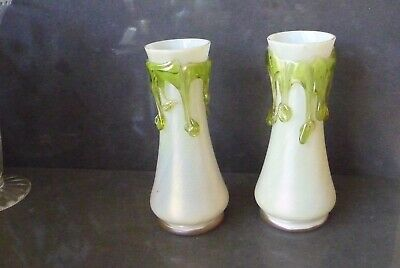 pair of Loetz vases