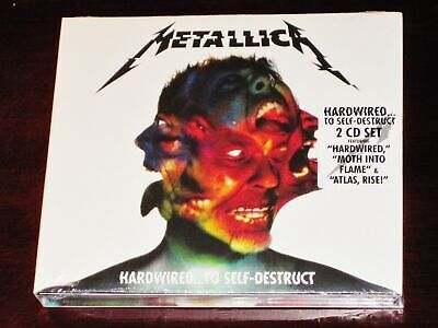 Metallica: Hardwired To Self-Destruct 2 CD Set 2016 * Sealed NEW *