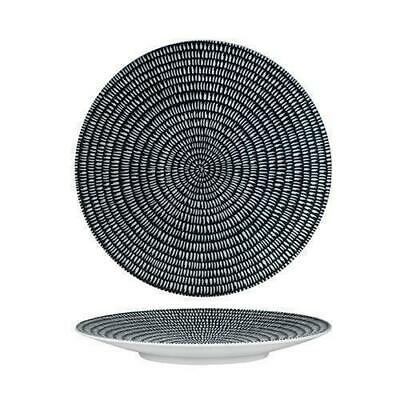 3x Round Coupe Plate, Storm, 310mm, Luzerne 'Zen', Commercial Quality