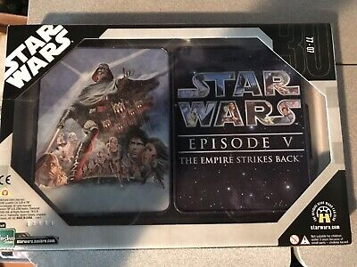 Star Wars Commemorative Tin Collection 5 Of 6 Empire Strikes Back Figures Hasbro