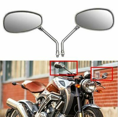 Motorcycle Scooter ATV Rear View Mirrors 10mm For HONDA VTX 1300 1800