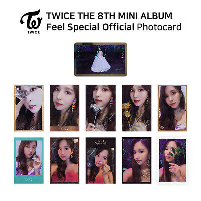 TWICE - 8th Mini Album Feel Special Official Photocard - MINA