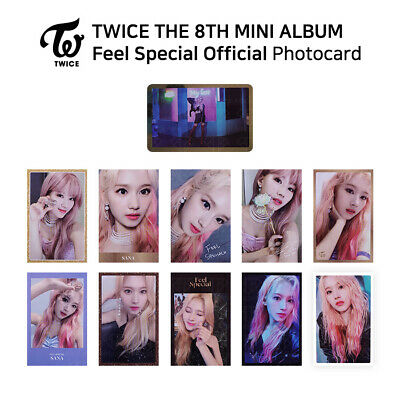 TWICE - 8th Mini Album Feel Special Official Photocard - SANA