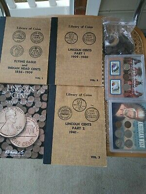 Lot of U.S. Indian/Lincoln Head Penny Collection