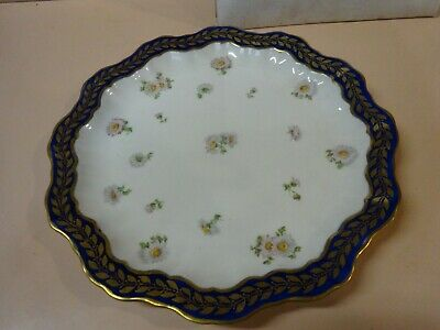 Antique ADDERLEYS Decorated plate.1920 s.Made in England.