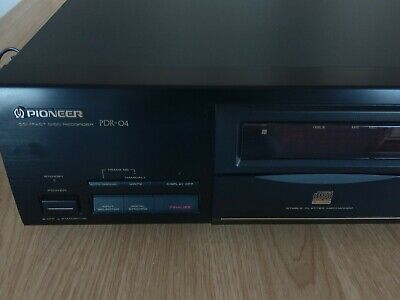 Pioneer PDR-04 Compact Disc Recorder CD Player Recorder