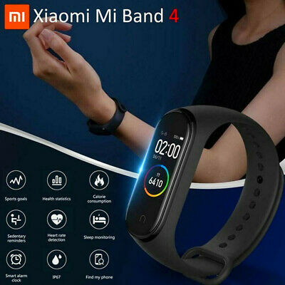 XIAOMI MI BAND4 bluetooth5.0 SMARTWATCH BRACCIALETTO INTELLIGENTE 24