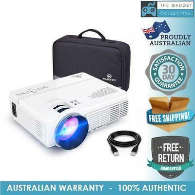 VANKYO LEISURE 3 Mini Projector, 1080P and 170'' Display Supported, 2400 Lux Por