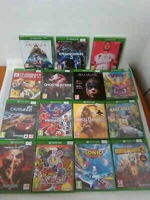 Xbox One Top Games New & Sealed - Fifa 20, Star Wars, Spyro, Ace Combat, Lego