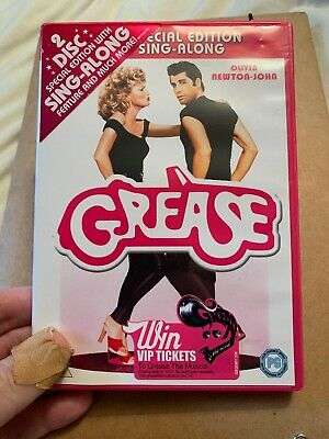 Grease DVD Two Disc Special Edition With Sing-along - Travolta -