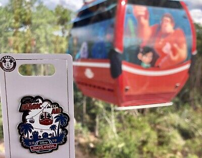 Disney World Skyliner Gondola There's Magic in the Air 2019 WDW Pin NEW IN HAND