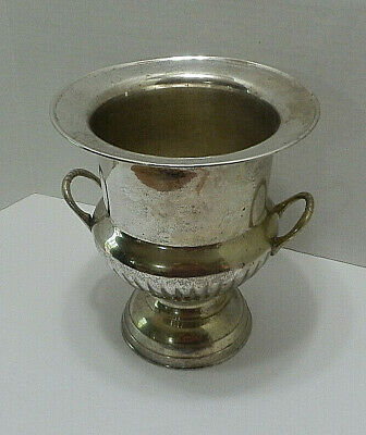 International Silver Co.Hand Made Silver Plated Champagne Ice Bucket Wedding