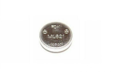 2X ML-621S/DK Secondary Coin Lithium Battery FDK ML621 For SONY Panasonic Camera