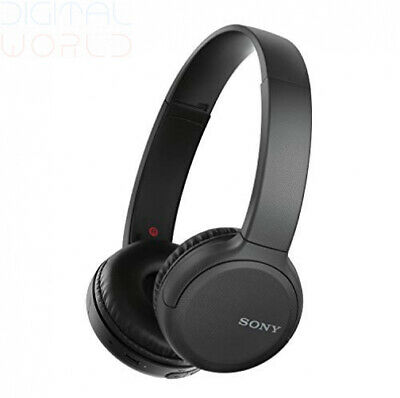Sony Wh-CH510 Wireless Headphones, 35 Hours Battery Life with Quick black