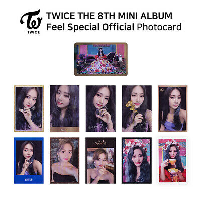 TWICE - 8th Mini Album Feel Special Official Photocard - TZUYU