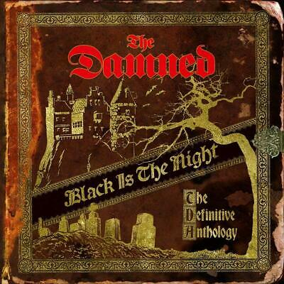 The Damned Black Is the Night The Definitive Anthology 2 CD ALBUM NEW (1ST NOV)