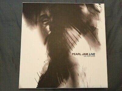 Pearl Jam Live on Ten Legs Super Deluxe Vinyl Boxset Used Rare OOP Vedder