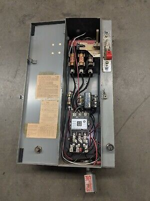 Westinghouse Combination Starter/disconnect Size 2 starter