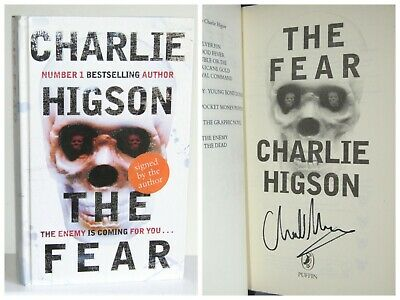 Charlie Higson The Fear (The Enemy Book 3) Signed YA First Edition Hardcover