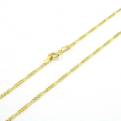 1.5mm 18-28 In... New Solid 10k Yellow Gold Moon Cut Style Link Chain Necklace