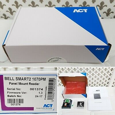 ACT Bell Smart 2 1070PM Panel Mount Readers Firmware 1.3 New and Sealed