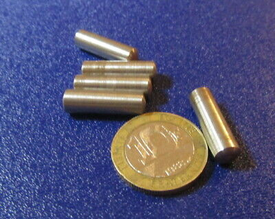 Metric Steel Taper Pins 6.4 mm Large End x 6 mm Small End x 20 mm Long, 25 Pcs