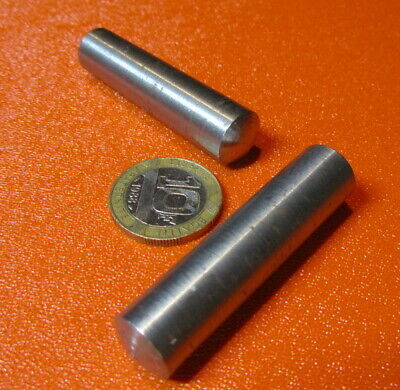 Metric Steel Taper Pins 13 mm Large End x 12 mm Small End x 50 mm Long, 5 Pcs