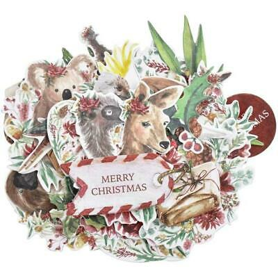 KAISERCRAFT Scrapbooking Collectables - UNDER THE GUM LEAVES Christmas Australia
