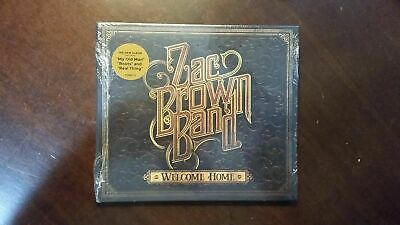 Welcome Home - Zac Brown Band CD May-2017 *BRAND NEW SEALED*