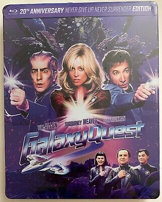 New Galaxy Quest 20Th Anniversary Blu Ray Best Buy Exclusive Steelbook Buy It