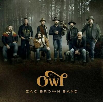 Zac Brown Band CD - The Owl - Brand New Factory Sealed - Fast Free Shipping!