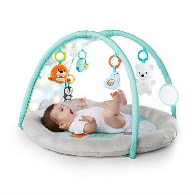 Bright Starts Artic Glow Baby/Infant Activity Play Gym w/Music/Toys/Mirrors 0m+