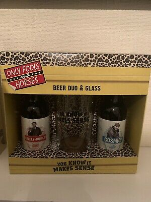 Only Fools And Horses Beer Duo & Glass