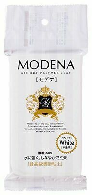 Pajiko resin clay Modena 250g white 303109
