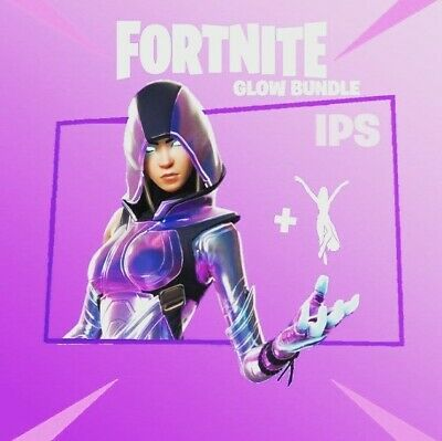 Fortnite Glow Skin (Skin & Emote) - (PC, Xbox, PS4, Android, etc) Quick Delivery