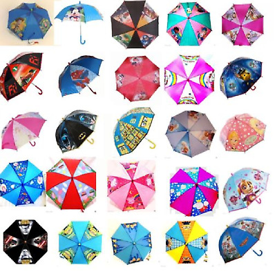 Disney Character Umbrella - Choose Your Favourite Character For Kids
