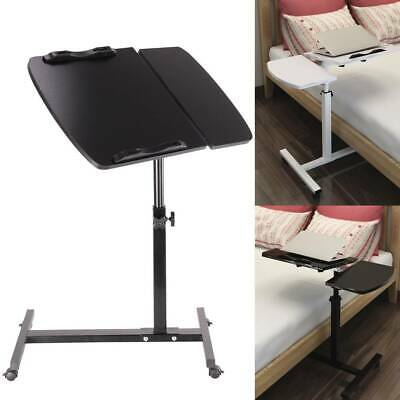 Adjustable Portable Laptop Lazy Table Stand Lap Sofa Bed PC Notebook Desk UK